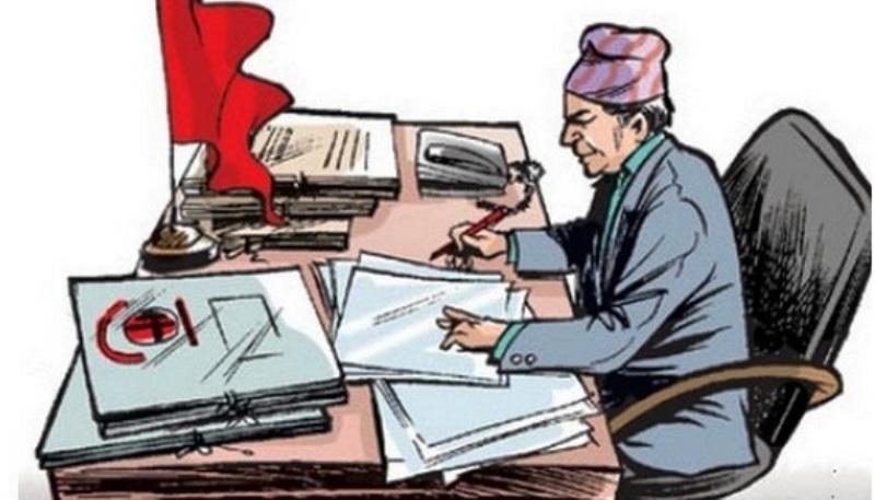 भुक्तानी प्रकृया  बारे भारतमा पढ्दै नेपालका कर्मचारी