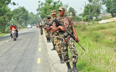 नेपाली सेनामा कोही काखा कोही पाखा