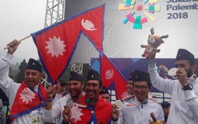 नेपाल रजत पदक जित्न सफल