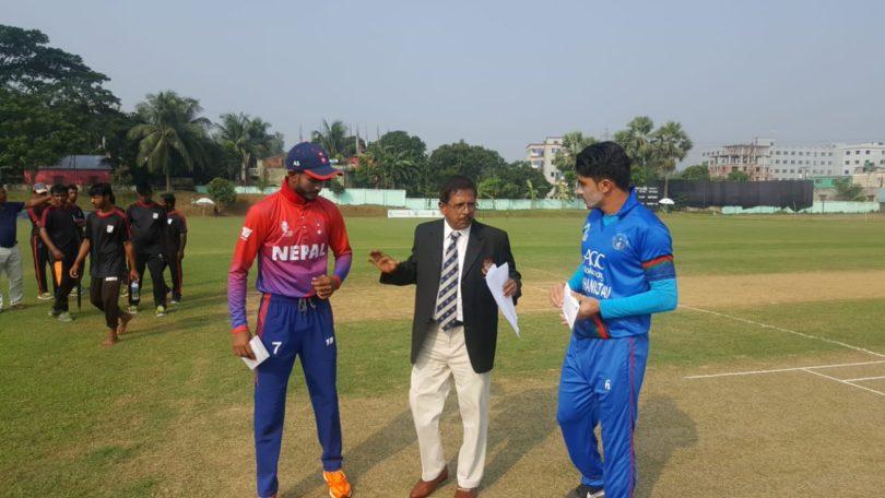 युवा क्रिकेट टोली प्रतियोगितावाट आउट