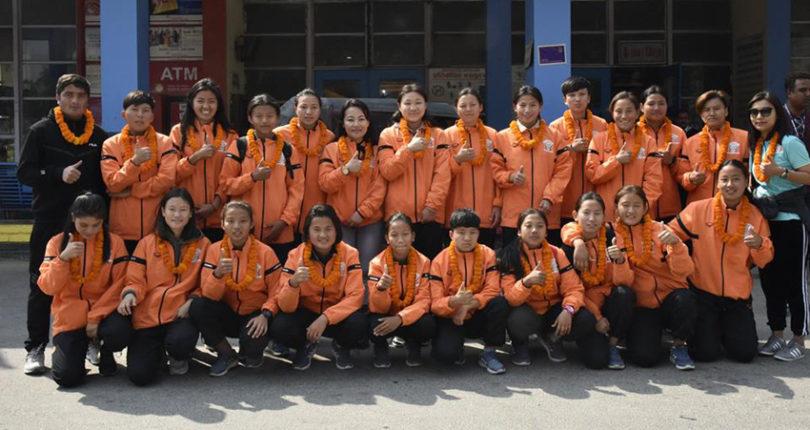 पाँचौं महिला साफ च्याम्पियनसिपमा ६ राष्ट्रबीच प्रतिस्पर्धा